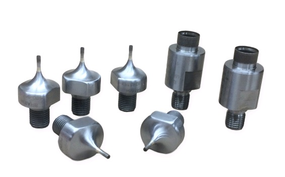 Branson mounts for your Ultrasonic Drilling Machine. Our mounts can accommodate any size OD or ID core drill that may need.
